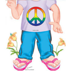 Children's Peace Sign Tee