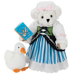 Mother Goose Teddy Bear with Goose