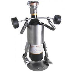 Weight Lifter Wine Bottle Caddy