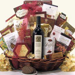 Mount Veeder Cabernet Sauvignon Gift Basket