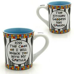 Kiss the Cook Coffee Mug