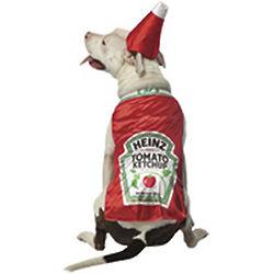 Heinz Ketchup Pet Costume