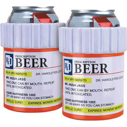 Prescription Beer Koozies