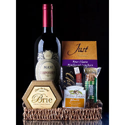 Italian Red Wine Gift Basket