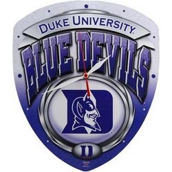 Duke Blue Devils High Definition Clock