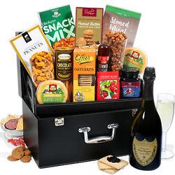 Dom Perignon and Snacks Gift Box