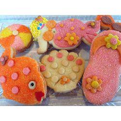 Beach Vacation Crispy Sugar Cookies Gift Box