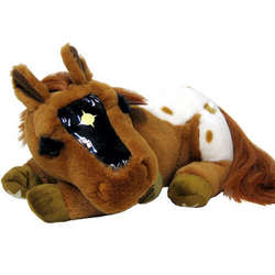 Plush Horse with Nightlight - Lucky Stars