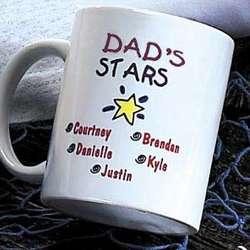 Personalized All My Stars Mug