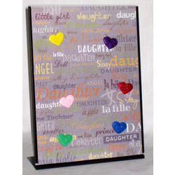 Daughter Magnetic Photo Collage Frame