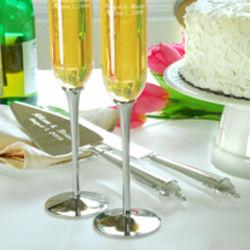 Designer Personalized Cake Server Set