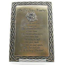 Old Irish Blessing Plaque