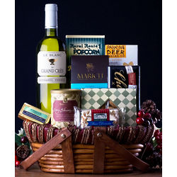 French White Wine Gift Basket