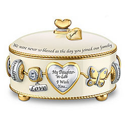 Daughter-In-Law I Wish You Personalized Music Box