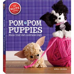Pom-Pom Puppies Book and Craft Kit
