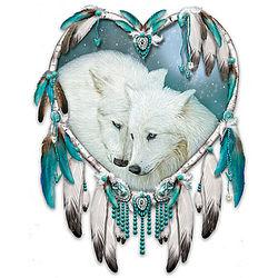 Native American-Style Kindred Spirits Dreamcatcher Art
