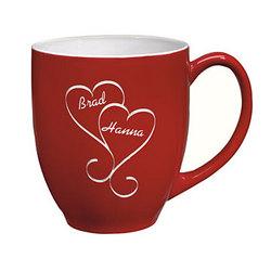 Interlocking Hearts Mug