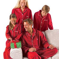 Kid's Personalized Festive Family Pajamas
