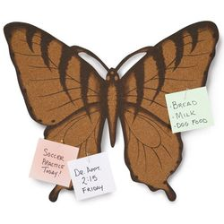 Butterfly Cork Board with Tacks