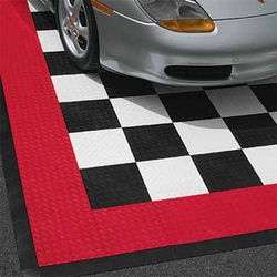Race Deck Modular Shop Floor Tile