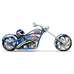 Home Run Racer Chicago Cubs Motorcycle Figurine