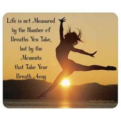 Take Your Breath Away Mouse Pad