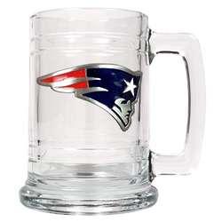 New England Patriots Personalized Medallion Mug