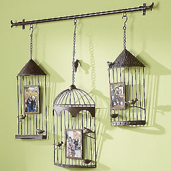 Birdcage Wall Hanging