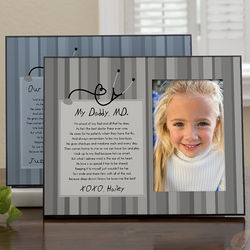 Doctor Daddy Personalized Picture Frame
