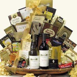 Robert Mondavi Napa Series Duet Wine Gift Basket
