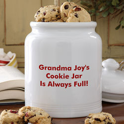 Your Name It Personalized Cookie Jar