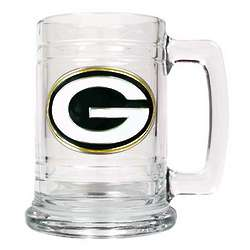 Personalized Pewter Emblem Green Bay Packers Mug
