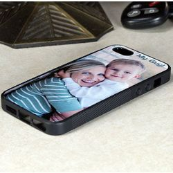 Photo Personalized Rubber Phone Cover for iPhone 5 / 5S