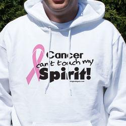 Pink Hope Ribbon Spirit Hooded Sweatshirt