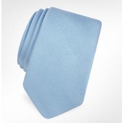 Solid Twill Silk Narrow Tie