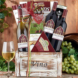Callister Cellars Trio Wine Gift Basket