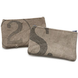 Recycled Mail Sack Pouch