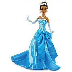 Princess Tiana in Blue Ballgown Fashion Doll