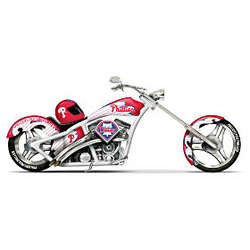 Home Run Racer Philadelphia Phillies Motorcycle Figurine