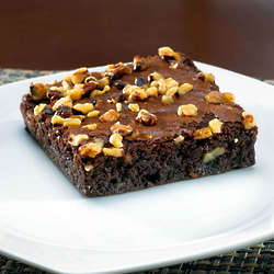 12 Fudge Walnut Brownies