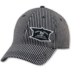 John Deere Stripe Denim Cap
