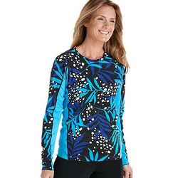 Women's Long Sleeve UPF 50+ Paddle Swim Shirt