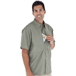 Expedition Light Short Sleeve Shirt with UPF 50+