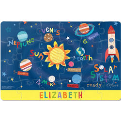 Outerspace Personalized Jigsaw Puzzle