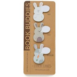 Bouncin' Bunnies Book Buddy Notepads
