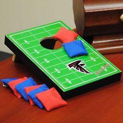 Football Field Table Top Bean Bag Toss