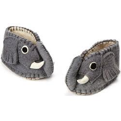 Handcrafted Elephant Baby Booties