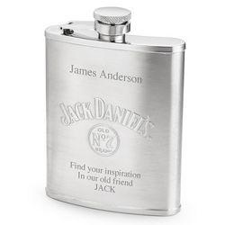 Jack Daniels Stainless Steel Flask