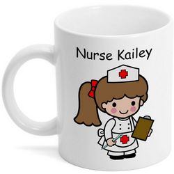 Custom Character Classic Nurse Coffee Mug