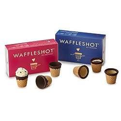 Chocolate Waffle Shots